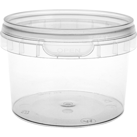 Homemade yogurt containers - 4 pcs.