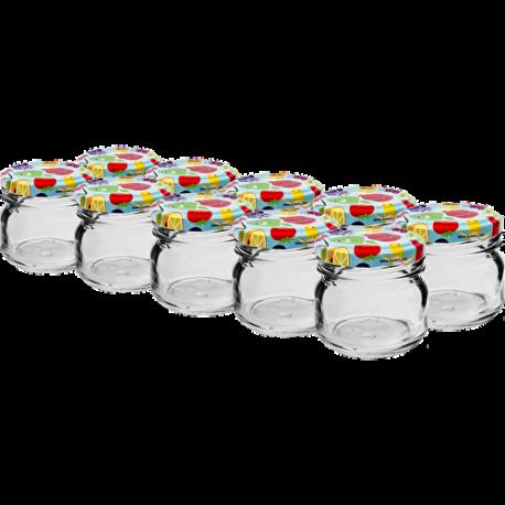 10 x Jar 30 ml + lid