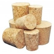 27 x 22mm Natural Cork Stoppers