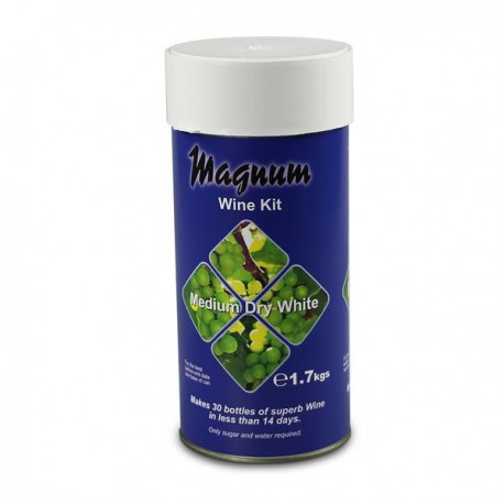 Magnum Medium Dry White Wine Kit