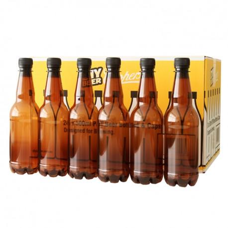 500 ml Amber PET Beer Bottles (24) - Coopers