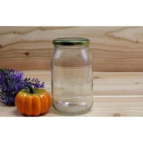 900 ml glass jar with lid