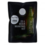 UKBrew REAL ALE - 1.6kg Home Brew Beer Kit 23L Beer Making Kit