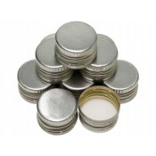 Silver Screw Cap 28mm