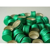 Green Screw Cap 28mm