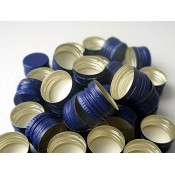 Blue Screw Cap 28mm