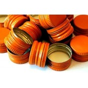 Orange Screw Cap 28mm