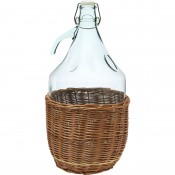 5l demijohn in a wicker basket