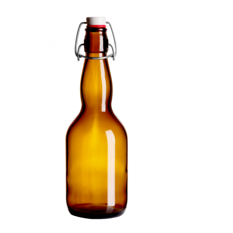 8 x  Glass Beer Bottles BIRRA 0.5 L 50cl With Swing Top Home Brew