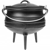 African cauldron, cast iron, 7 L - Safari
