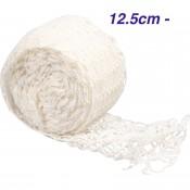 Siatka wędliniarska biała 15 cm x 5 m do 220°C
