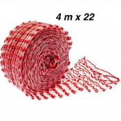 Meat netting red string - 4m (125°C)