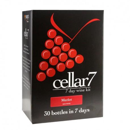Cellar 7 Merlot - Makes 30 Bottle