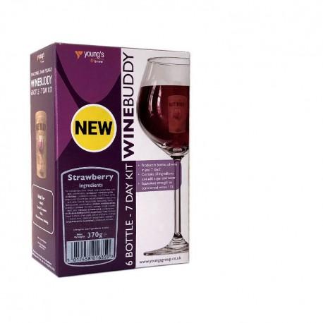 WineBuddy Owocowe 6 Bottle ( 4,5l)  Strawberry