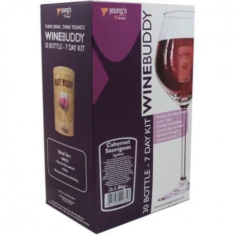 30 Bottle Cabernet Sauvignon WineBuddy Wine