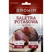 Saltpetre for meat curing - 20 g BBE 03.2021