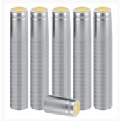 100 Silver Shrink Caps Shrinks Capsules