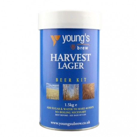 Young's Harvest Lager 40pt