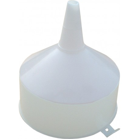 Plastic Funnel 23  cm with mesh filter, strainer