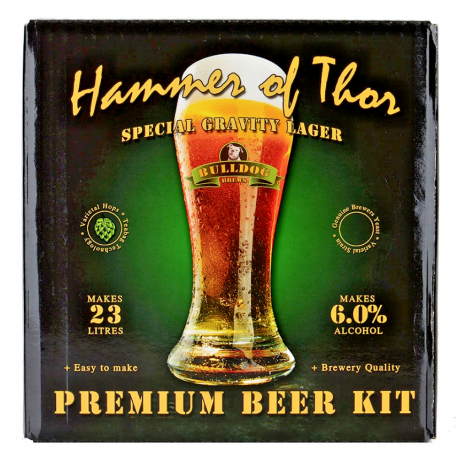 Bulldog Beer Kit Hammer of Thore