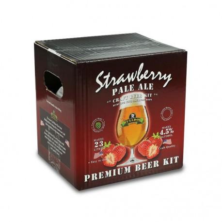 Bulldog Beer Kit - Strawberry Pale Ale