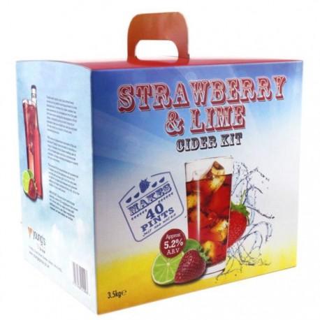 Strawberry & Lime Cider - 40 pt