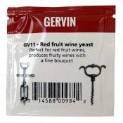 Gervin - GV11 Drożdże do wina Czerwone Owoce