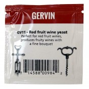 Big Sale Gervin - GV11 Red Fruit Wine Yeast- BBE 09/2021