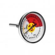 BBQ Smoker Thermometer , 0°-250°  101250