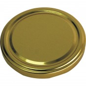 Twist off lid Ø82/6 , gold  136613