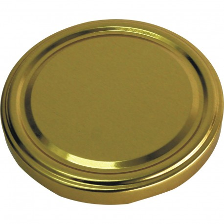 Twist off lid Ø82/6 , gold  136613