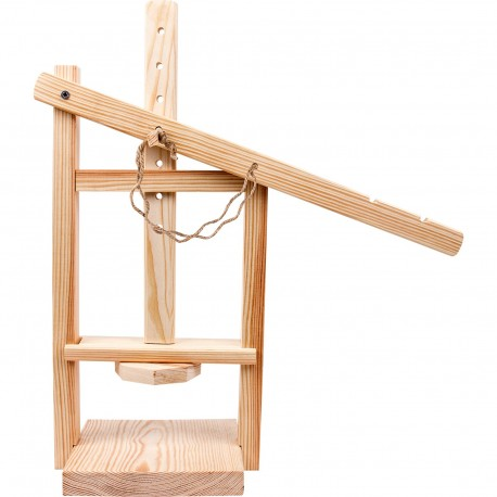 Wooden cheese press - 411350
