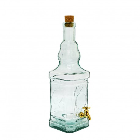 3 l Tower glass bottle with tap - 635510