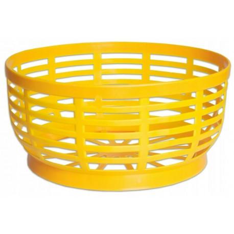 Plastic Basket base for 5 L demijohn - storage- organiser - (yellow)