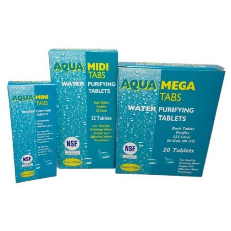 Water Purifying Tablets MINI