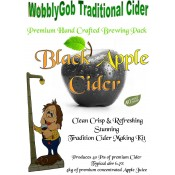 WobblyGob Traditional Cider - Black Apple - zestaw do warzenia cydru