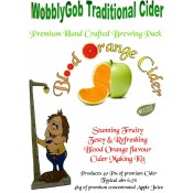 WobblyGob Traditional Cider - Blood Orange - zestaw do warzenia cydru