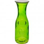 Karafka na wodę 1l zielona z kapslem