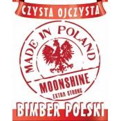 Etykieta MADE IN POLAND - BIMBER POLSKI