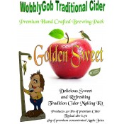 WobblyGob Traditional Cider - Golden Sweet - zestaw do warzenia cydru