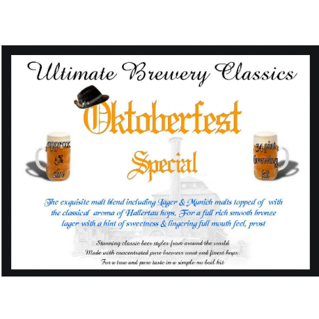Ultimate Brewery Classics German Pilsner