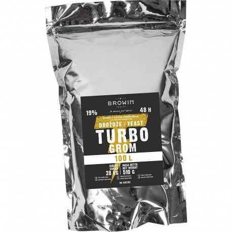 Browin Turbo Grom Yeast 100l 403191