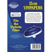 Harris Filters Vinbrite Vinpapers (50) 15cm Diameter