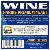 Harris Premium Wine  Yeast