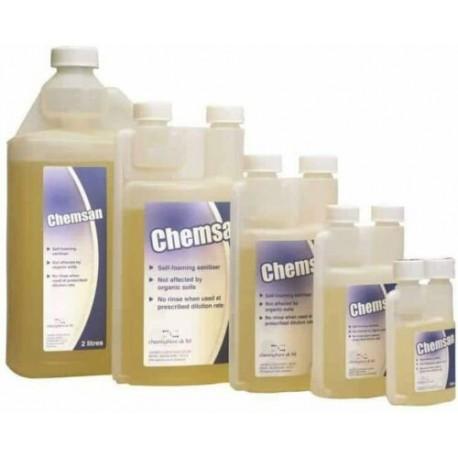 ChemSan Self Foaming No Rinse Sanitiser Cleaner 100ml