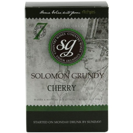 Solomon Grundy Country - Cherry - 6 Bottle
