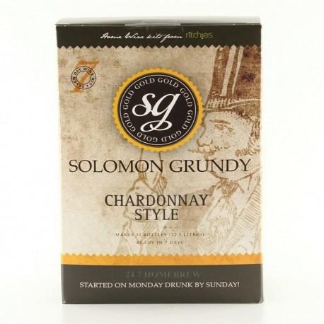 Solomon Grundy Gold - Chardonnay -   6 Bottles Wine Kit