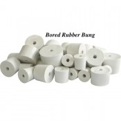 54/50 Bored Rubber Bung