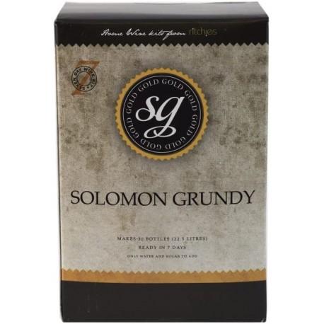 Solomon Grundy gold -