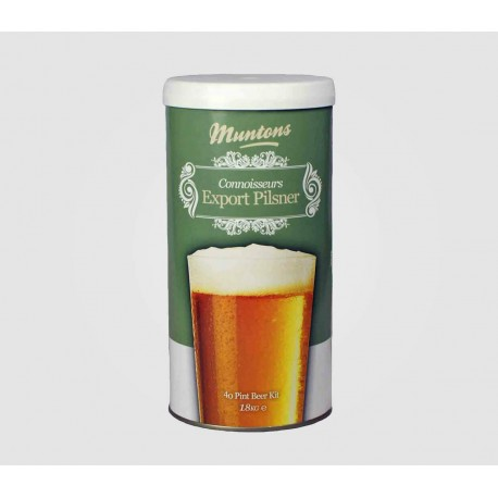 Muntons Connoisseurs - Export Pilsner - Beer  Kits